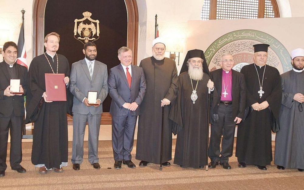 lustrativo: Una foto tomada en Amman, Jordania, celebrando la Semana Mundial de la Armonía Interreligiosa, abril de 2016. (Wikimedia Commons / Ocaorthodox)
