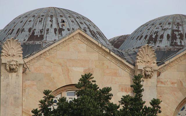 Cabezas de león en la Basílica de Todas las Naciones (Shmuel BarAm)