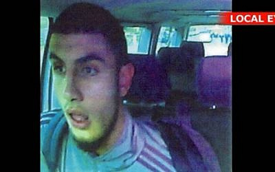 Omar El-Hussein, el pistolero de 22 años que está detrás del doble tiroteo en Copenhague. (captura de pantalla: YouTube)