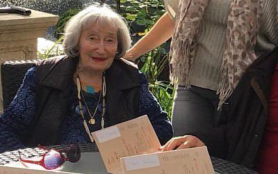 Mireille Knoll, 85, una sobreviviente del Holocausto que fue encontrada asesinada en su departamento de París. (Cortesía)