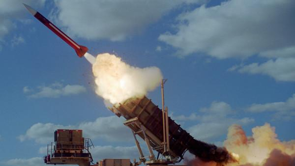 Ilustrativo: Un misil Patriot.(Fuerza Aérea de Israel)