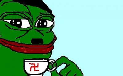 Pepe the Frog, un meme de Internet, se ha convertido en un símbolo del alt-right. (Twitter / Lior Zaltzman)