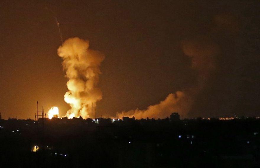 Soldado de Israel muere por disparos en la frontera con Gaza, gran represalia israelí