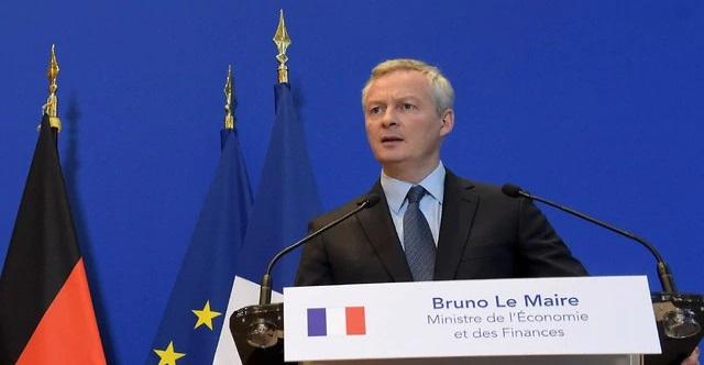 El ministro de Finanzas francés, Bruno Le Maire (Foto: AFP)