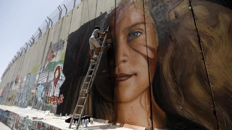 Israel arresta a dos artistas italianos de graffiti en la región de Judea y Samaria