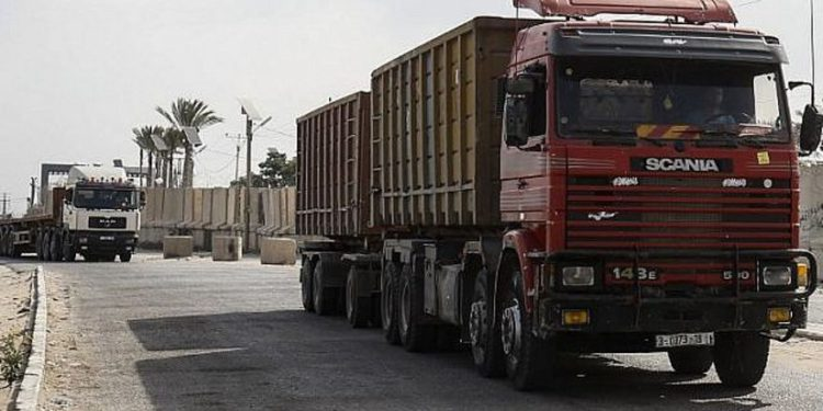 Grupos de derechos humanos presentan petición a Israel para que renueve la entrada de bienes a Gaza