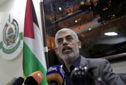 Líder militar de Hamas en Gaza Yahya Sinwar (AFP).