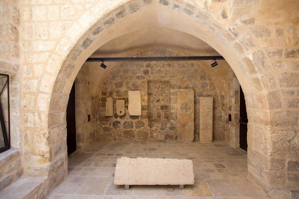 Algunas partes del museo datan de la época bizantina (alrededor de 1.500 años) y el período de la Cruzada (hace aproximadamente 1.000 años). (Emil Salman)