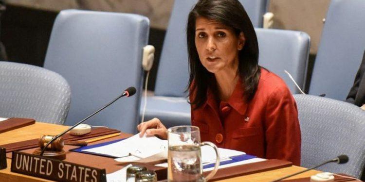 Haley dice que Estados Unidos presentará resoluciones adicionales a la ONU condenando a Hamas