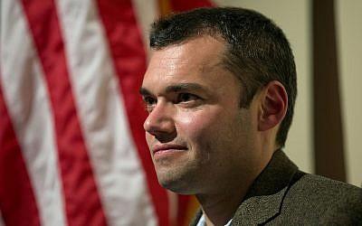 El autor Peter Beinart espera hablar en un evento el 14 de noviembre de 2012 en Atlanta. (AP Photo / David Goldman / Archivo)