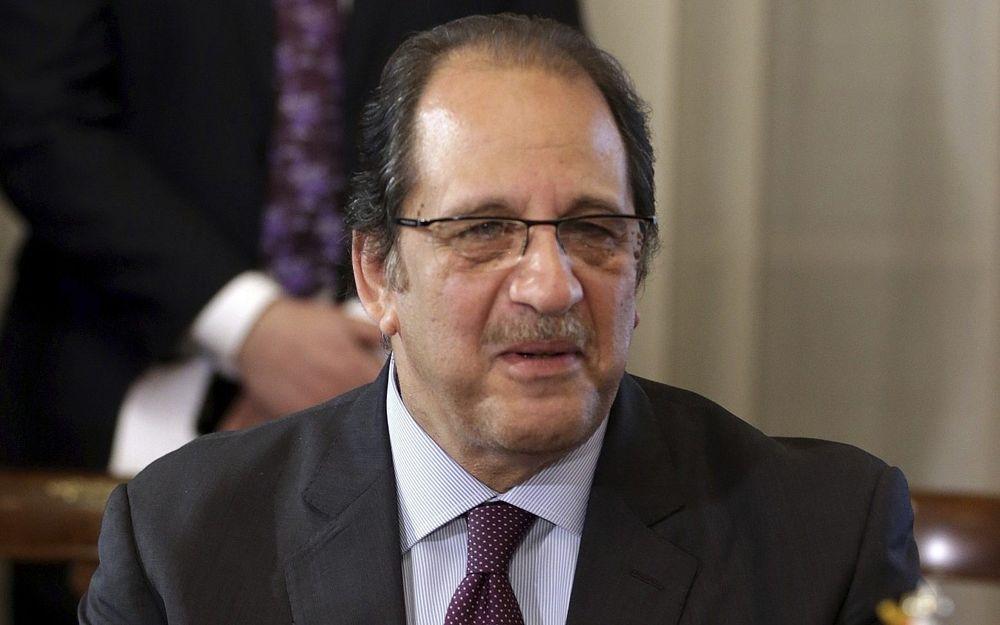 Jefe de inteligencia egipcio Abbas Kamel, 8 de febrero de 2018. (Foto de Khaled Elfiqi / Pool vía AP)