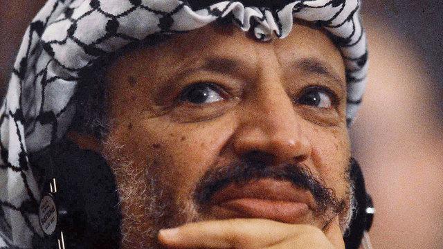 El ex líder palestino, Yasser Arafat (Foto: AP)