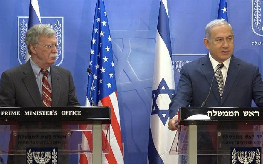 """Bolton y Netanyahu critican el """"miserable"""" y """"desastroso"""" acuerdo con Irán"""