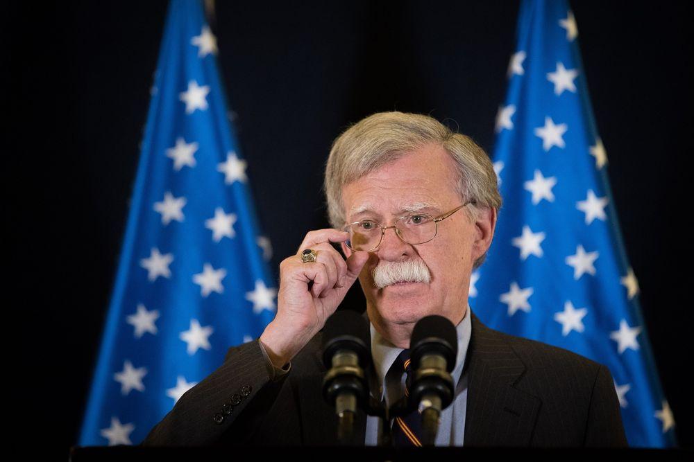 """Bolton niega """"quid pro quo"""" en movimiento de embajada de EE. UU. a Jerusalem"""