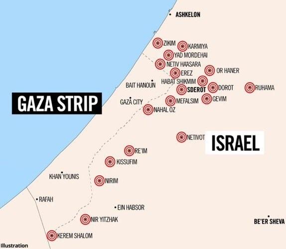 Cohetes de Hamas
