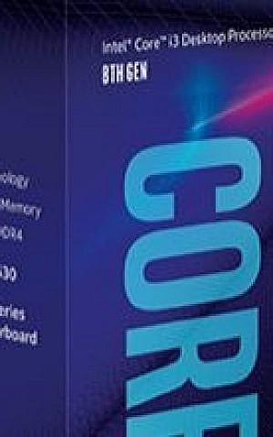 Procesadores 8th-Gen-Intel-Core-i3-8100 de Intel Corp. (Cortesía)