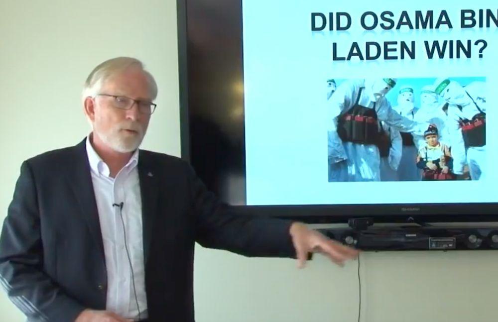 David Crane, el director de la ONU para la investigación sobre Gaza