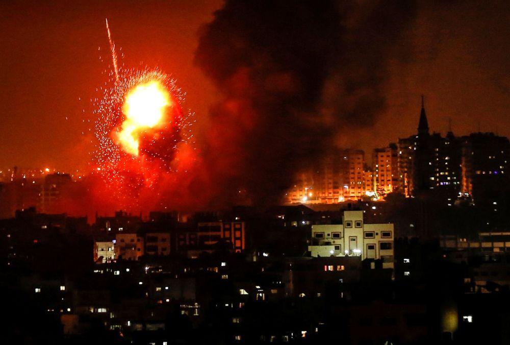 70 cohetes disparados desde Gaza hacia el sur de Israel