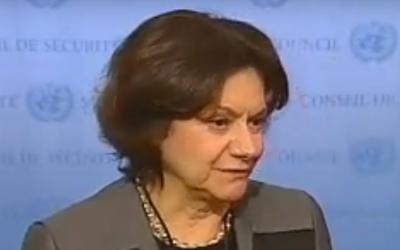 Rosemary Di Carlo (Captura de pantalla: YouTube)