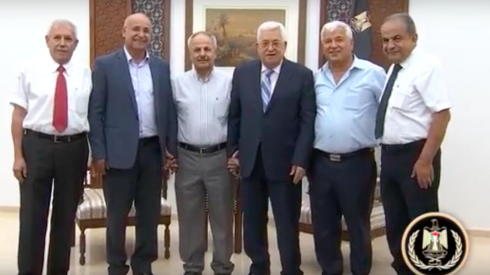 Abbas se reunirá con líderes de la comunidad israelí en Ramallah el lunes 13 de agosto de 2018. (Captura de pantalla / Youtube)
