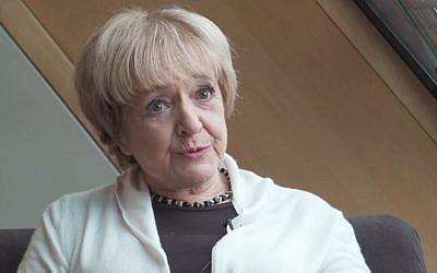 MP Margaret Hodge. (Captura de pantalla de YouTube)