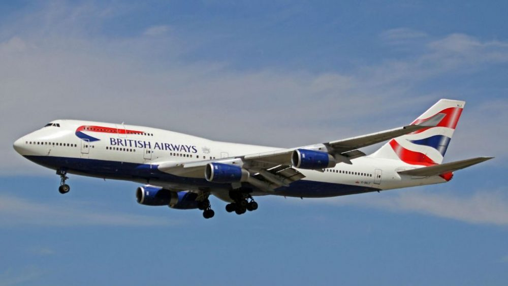 Foto ilustrativa de un avión de pasajeros British Airways 747.(Ken Fielding / Wikipedia / CC BY-SA 3.0)