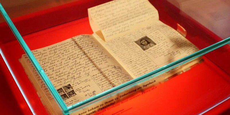El manuscrito es exhibido en La Casa Ana Frank de Ámsterdam.