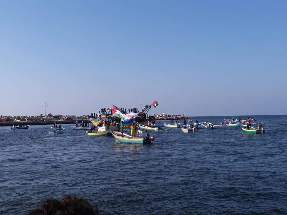 Islamistas de Gaza en 40 barcos intentaron llegar a Israel