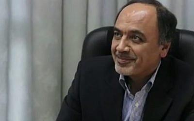 Oficial iraní Hamid Aboutalebi (crédito de la foto: captura de pantalla de YouTube)