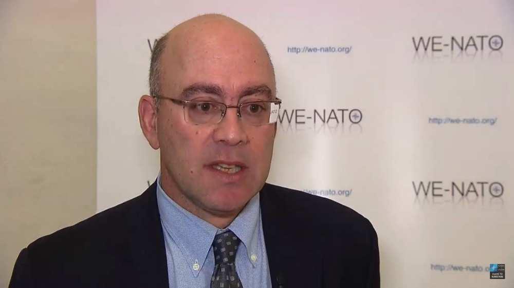 William Echikson, representante de la rama europea del Judaísmo Reformista en marzo de 2012. (Captura de pantalla: YouTube)