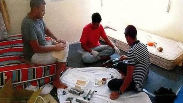 Una sesión de fabricación de explosivos en Alcanar