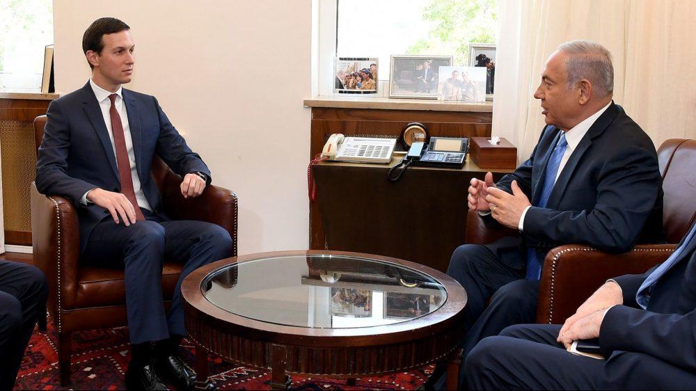 Jared Kushner y el primer ministro Benjamin Netanyahu (Foto: Embajada de los Estados Unidos)