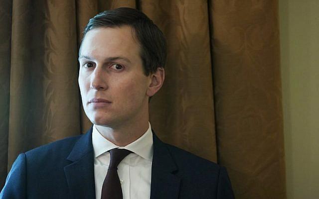 Jared Kushner, asesor principal y yerno del presidente estadounidense Donald Trump, asiste a una reunión del gabinete en la Casa Blanca el 16 de agosto de 2018. (AFP / Mandel Ngan)