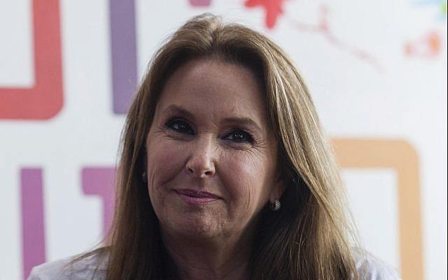 Empresaria israelí nacida en Estados Unidos, Shari Arison, propietaria de Arison Holdings, en Jerusalén, 4 de marzo de 2013. (Flash90)