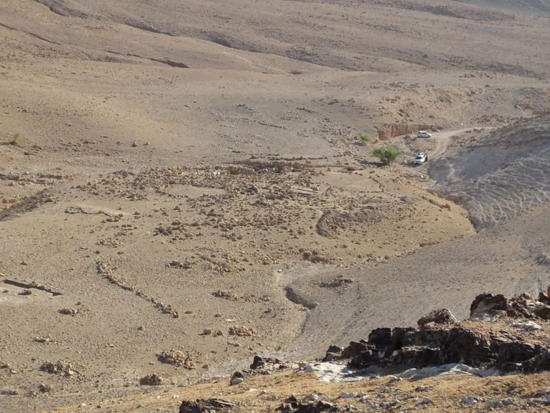 Khirbet el-Mastarah: Podría haber proporcionado un lugar conveniente para descansar para todo un pueblo en movimiento (El Proyecto de Excavación del Valle del Jordán)
