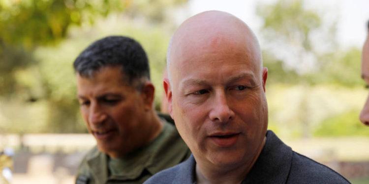 Greenblatt regresa a Israel para más reuniones sobre el plan de paz
