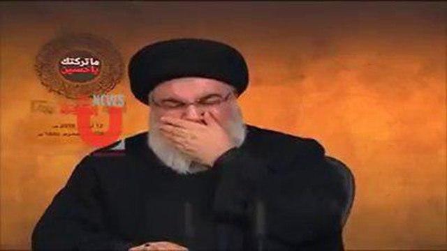 Hassan Nasrallah estalla en lágrimas