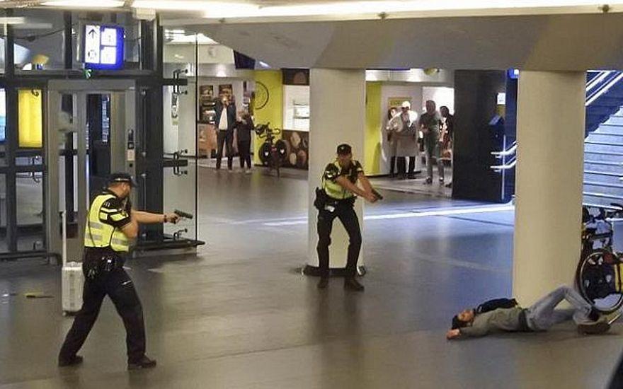 Apuñalamiento en Amsterdam fue un ataque terrorista, dos heridos son estadounidenses