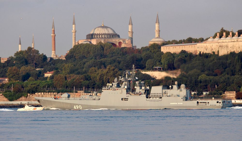 Fragata Rusia Siria