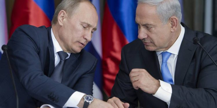 Netanyahu y Putin acuerdan trabajar juntos contra el coronavirus