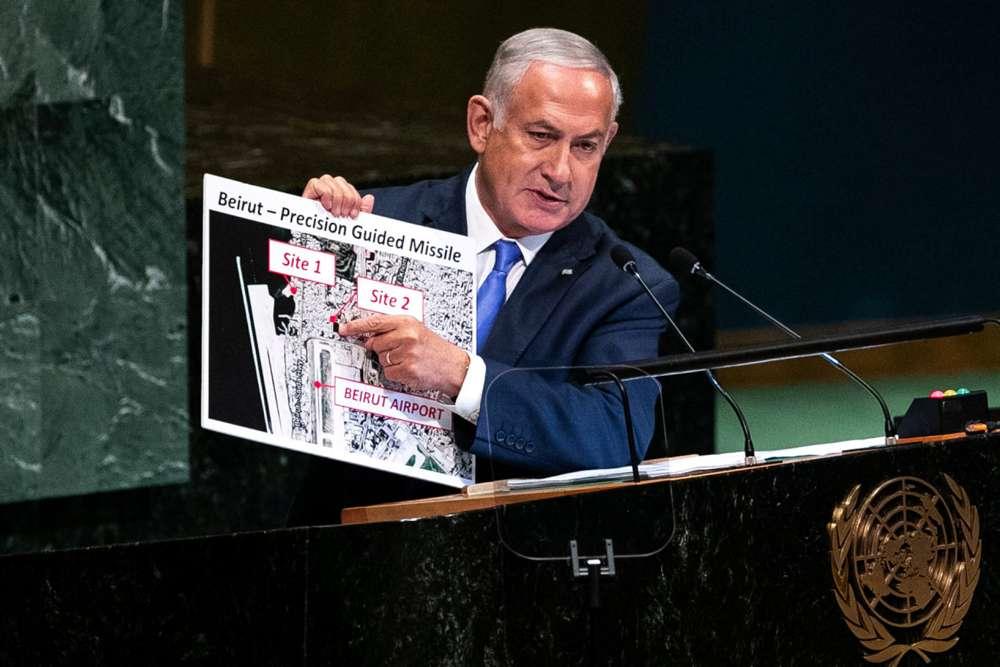 Revelaciones de Netanyahu en la ONU obliga a Hezbolá a reconsiderar los sitios de misiles en Beirut