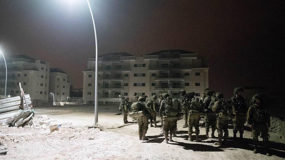 Los paracaidistas participan en un ejercicio que simula una guerra con el grupo terrorista Hezbolá, con sede en el Líbano, en septiembre de 2018. (Fuerzas de Defensa de Israel)