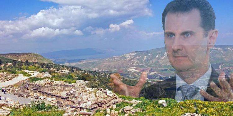¿Cederá Occidente los Altos del Golán a un psicópata?