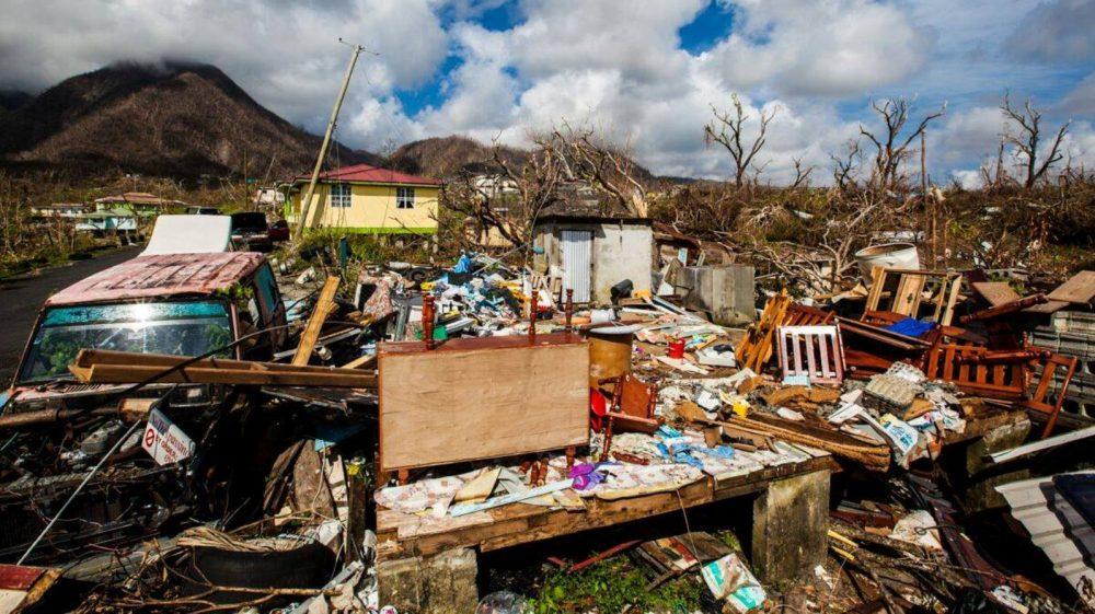 Dominica todavía está en modo de recuperación un año después del huracán. Foto de Oren Biran para IsraAID