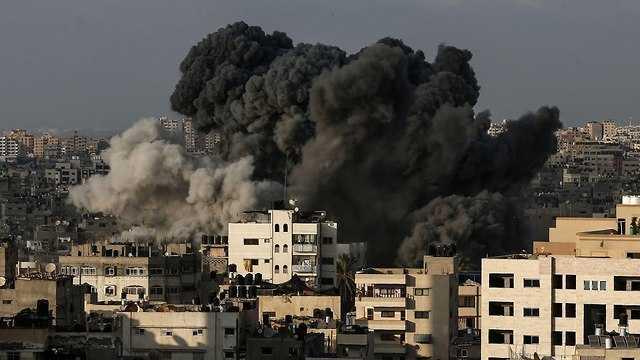 Bombardeo israelí en Siria(Foto: AP)