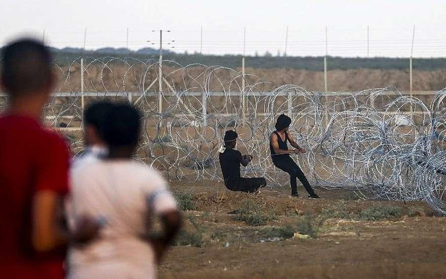 Dos islamistas de Gaza con cuchillo y hacha intentaron infiltrarse en Israel