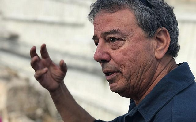El arqueólogo Dr. Ian Stern, director de la excavación de Maresha. (Asaf Stern)