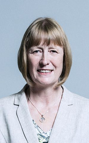 Joan Ryan, presidente de Labor Friends of Israel. (Parlamento del Reino Unido)