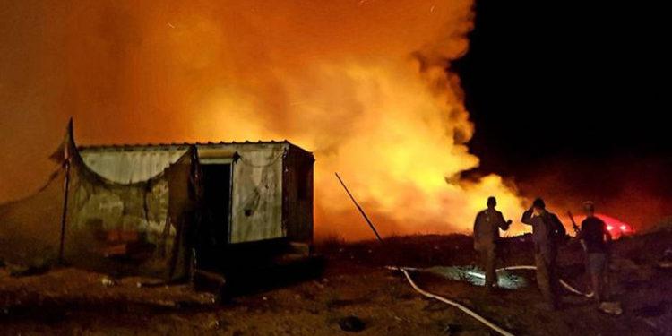 Fondo Nacional Judío: globos incendiarios causan un desastre ambiental