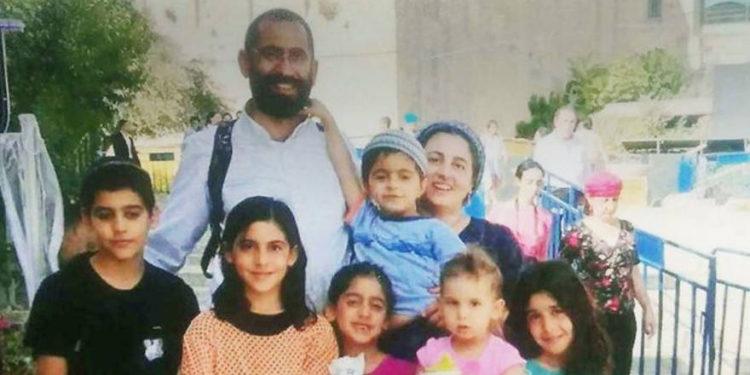Nombres de las víctimas del accidente automovilístico fatal: Yariv, Shoshi y sus seis hijos